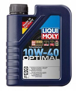 Масло моторное LIQUI MOLY Optimal 10w40  (1л) п/с 3929