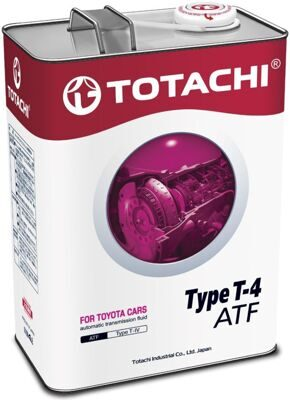 Масло транс. TOTACHI ATF TYPE T-IV (4л) хит