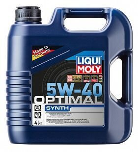 Масло моторное LIQUI MOLY Optimal Synth 5w40 (4л) синт. 3926 ХИТ АКЦИЯ