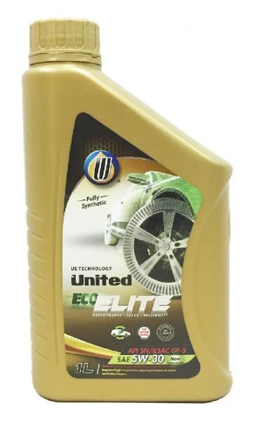 Масло моторное UNITED ECO-ELITE 5w30 SN/GF-5 (1л) синт. хит