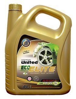 Масло моторное UNITED ECO-ELITE 5w30 SN/GF-5 (4л) синт. хит