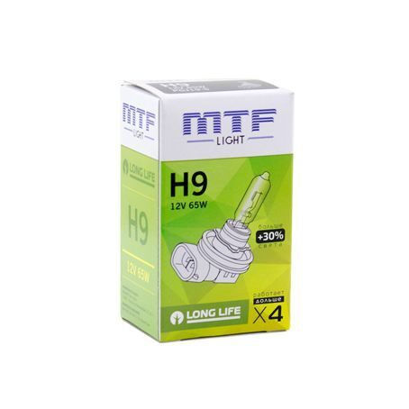 Лампа галоген MTF H9 12/35W  Light Standart+30%  HS1209