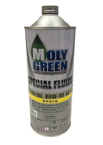Масло транс. MOLY GREEN Gear Oil 80w90 GL-5 (1л) п/синт.