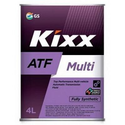 Масло транс. KIXX ATF Multi Plus (4л) L251844TE1