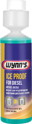 Антигель WYNNS ICE PROOF (250мл) на 250л W22710