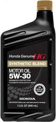 Масло моторное HONDA MOTOR OIL ULTRA LTD 5w30 SN/GF-5  (1л) п/с 087989034